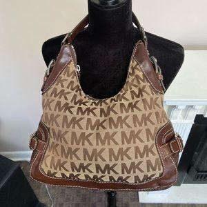 Michael Kors Brookville Jaquard Signature Logo Bag